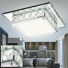led decken design le beleuchtung glas k5 kristalle