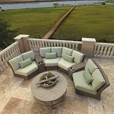 Ebay Patio Furniture Sectional by Outdoor Deep Seating Terra Patio Garden Teak Furniture Curved
