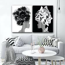 Black And White Wall Decor Emaxumco