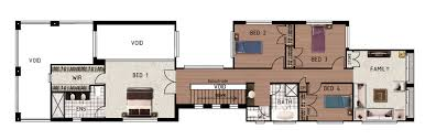 Small Narrow House Plans Colors Mesmerizing Small Lot House Plans Brisbane Pictures Best Idea