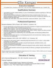 Executive Assistant Resume Examples 2016 Get Your Job