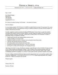 Medical Assistant Cover Letter Sample
