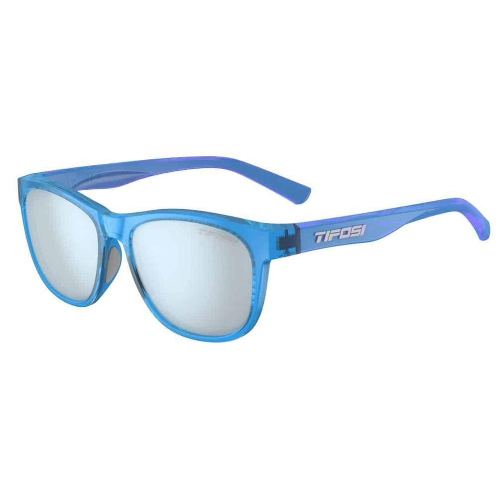 Tifosi Swank Single Lens Sunglasses - Crystal Sky Blue/Smoke Blue