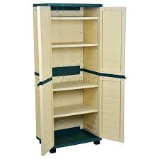 Hdx Plastic Storage Cabinets by Perfect Plastic Storage Cabinets For Garage The Design Ideas