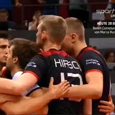 Volleyball Nations League Deutsche Herren Schlagen Argentinien In