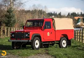 100 Land Rover Defender Truck 1986 110 HiCap Pickup Classic Driver