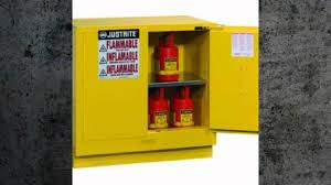 Grounding Of Flammable Cabinet Justrite by Flammable And Combustible Liquids Safety Youtube