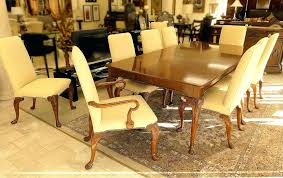 Bakers Used Furniture Baker Dining Room Mahogany Set Table