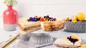 cheesecake mit zitronencrème