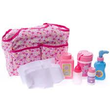 Butterflies Trade Diaper Bag Set Toys Games Cracker Barrel Old