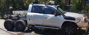 100 6x6 Truck Conversion JMACX Toyota Land Cruiser 6 Wheel Drive