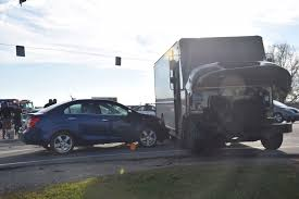 100 Ups Truck Accident Two Car UPS At Intersection Of CR 150W And US 30
