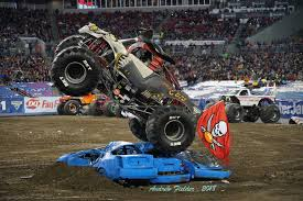 100 Monster Truck Backflip Cory Rummell Team Scream Racing