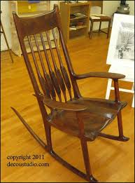 sam maloof rocking chair class sam maloof inspired rocking chair kansas black walnut sculpted