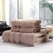 3 teil los grau handtuch set bambus baumwolle faser gesicht bad strand toalhas für home hotel bad erwachsene paar kamel lila waschlappen