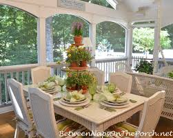 Summer Garden Party On The Porch
