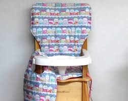 Eddie Bauer Wood High Chair Cover by High Chair Pad Replacements Hand Made In The By Sewingsillysister