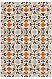 Manzon Area Outdoor Area Rug 8 inchi x11 inchi 2 and quot BLUE