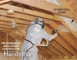 cathedral ceiling insulation family handyman