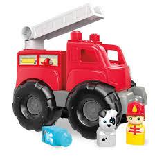 Mega Bloks Story Telling Fire Truck Rescue Playset - Toys