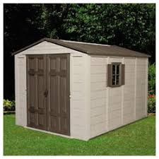 Suncast Garden Shed Taupe by Suncast Storage Sheds Building A Shed