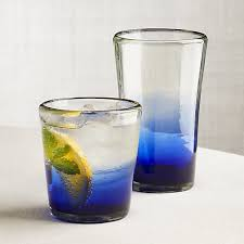 Miguel Blue Ombre Drinking Glasses