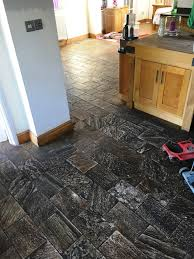 Tile Haze Remover Uk by Amazing Transformation Of A Slate Kitchen Floor Stone Cleaning