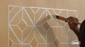 how to create a faux painted tile backsplash
