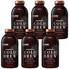 Starbucks Iced Coffee Black Unsweetened 11oz Bottles 8 Count Pepsi Bev