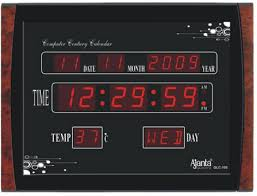 Digital Wall Clock Clocks Cool And Unique You Can Buy Right Now