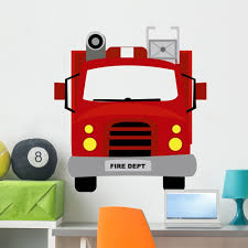 100 Fire Truck Wall Decals Amazoncom Monkeys Decal Peel And Stick Graphic