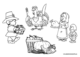 HolidayTurkey Coloring Pages Printable Thanksgiving Sheets Free Turkish Color Day