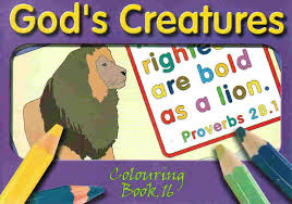 Gods Creatures TBS Series 2 Colouring Book
