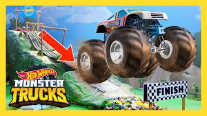 100 Monster Truck Mayhem MONSTER TRUCK MAYHEM ON THE DOWNHILL DASH S Episode