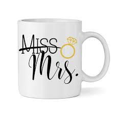 Miss To Mrs Bride Mug