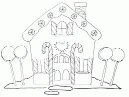 White House Coloring Pages Printable Houses Cardboard