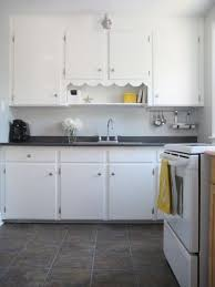 Our Little 1940s Kitchen Benjamin Moore Stonington Gray With Yellow And White Accents