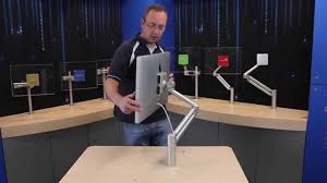 Imac Monitor Desk Mount by Flatscreen Arms Mantis 30 Monitor Arm Youtube
