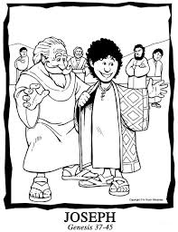 Coloring Page For Joseph Unit Ask Your Kindergardener Or First Grader About What They Learn This Sunday In Cooking Fresh Fruit Salad The Meaning Of