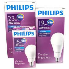 philips led bulb e27 edison high brightness range