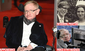 Has Stephen Hawking been replaced with a puppet