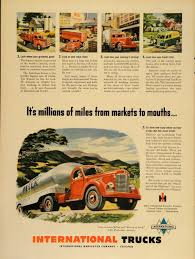 1949 Ad International Harvester Company Trucks IH Haul - ORIGINAL ... 1995 Intertional 9200 Flat Top Sleeper Truck Youtube New And Used Trucks Packer City Up The Hx Series Commercial Intro Video Wwwregintertionalcom Freightliner Scadia 125 1912 Ad Mack Saurer Motor Company Original Dump Trucks For Sale 2015 Prostar With Cummins Isx 450hp Engine Paper 2003 4400 Shredfast Mobile Shredding