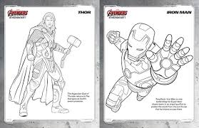 Free Kids Printables Marvels The Avengers Age Of Ultron