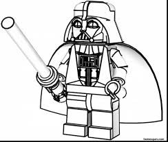 Remarkable Lego Star Wars Coloring Pages With Movie Page And