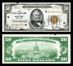 Series Of 1929 Federal Reserve Bank Note