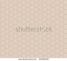 Illusion Cube Vector Illustration Light Brown Stock Vector