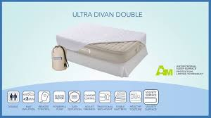 Aerobed With Headboard Uk by Aerobed Ultra Divan Double Airbed En Youtube