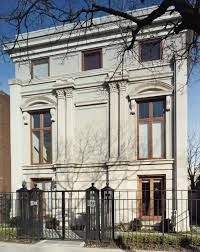 100 Townhouse Facades Facade Of This Chicago Residence Is Transformed Into An Italian