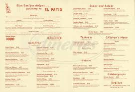 el patio simi valley menu 100 images the patio restaurant