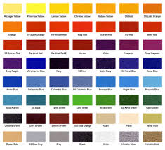 Branded Screen Printing Offers A Variety Of Ink Colors For Your Custom Printed Order Also Many Specialty